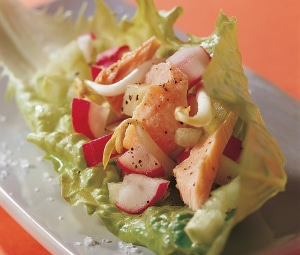 Recette salade de Truite fraîcheur