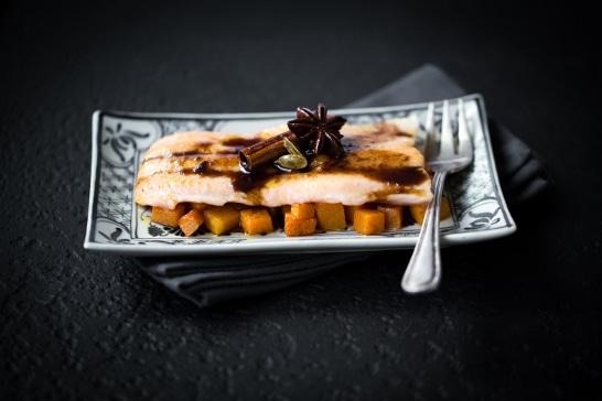 Atelier  des Incontournables - Filet de truite au caramel d'épices