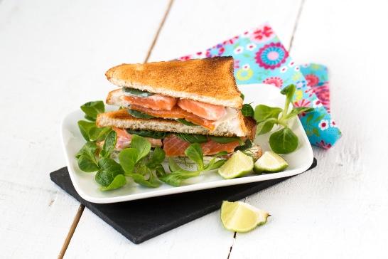 Atelier Enfant -Club sandwichs printanier au fromage frais et à la truite