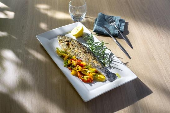 Atelier Grill - Bar grillé, plancha de légumes du soleil