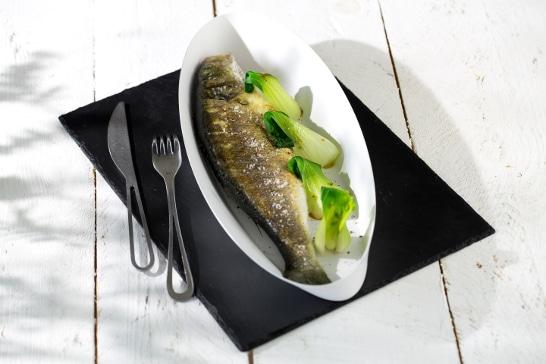 Recette poisson - Bar grillé retour de plage