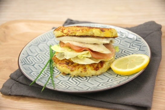 Hash Browns et turbot façon Burger - Saveurs d'Amérique du Nord | Atelier Poisson
