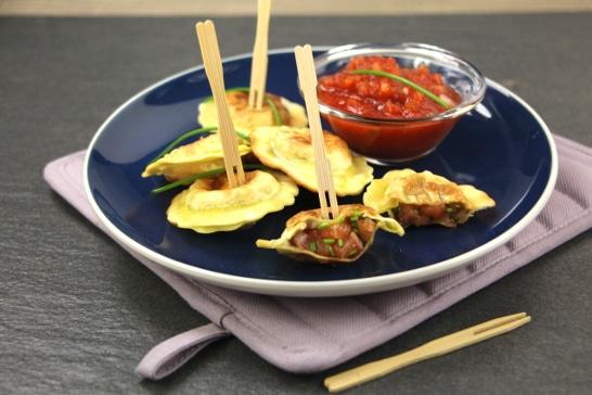 Pastels de truite, sauce tomate pimentée - Saveurs d'Afrique | Atelier Poisson