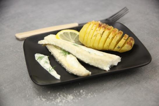 Filet de turbot et pommes de terre à la Suédoise, sauce à l'aneth - Saveurs d'Europe | Atelier Poisson