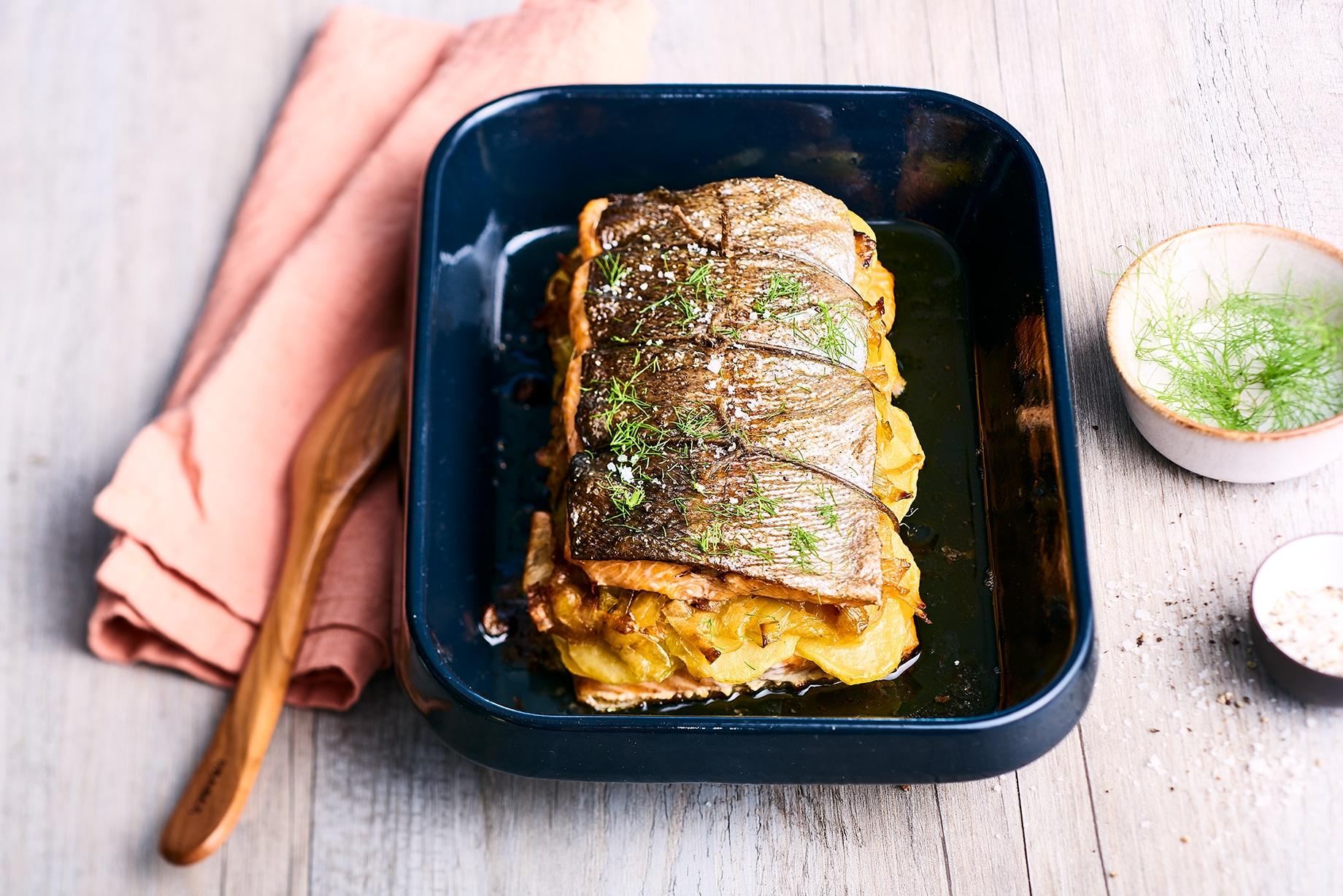 recette-roti-truite-poireaux